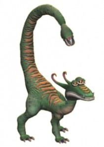 Four-legged dinosaur-like creature from Spore
