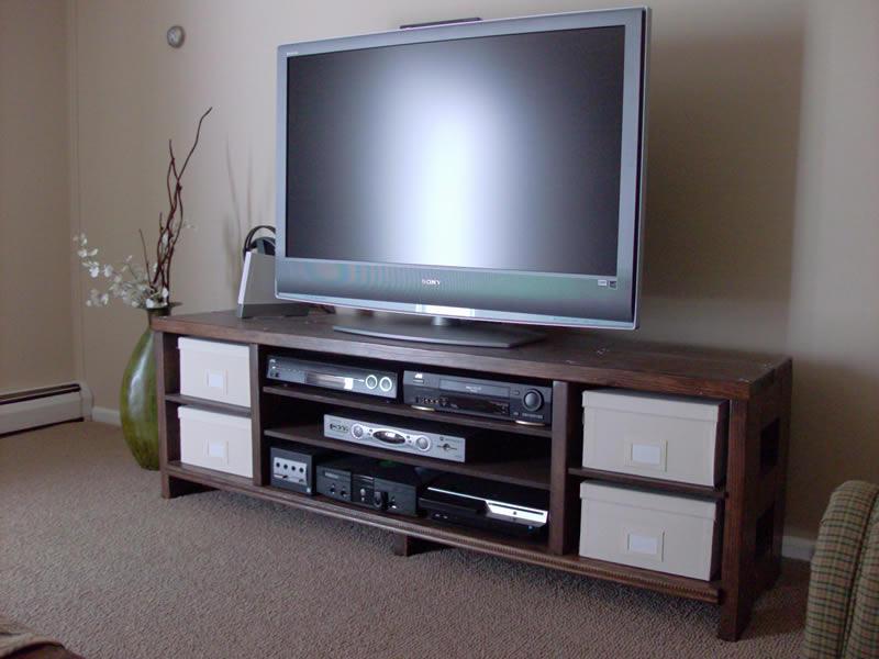 Build Tv Stands Plans Flat Screens DIY diy network ...