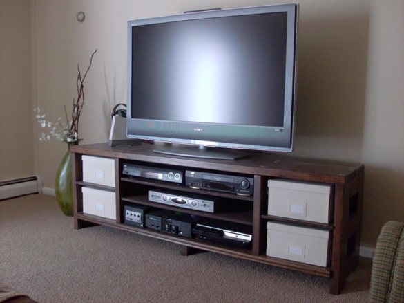 Plans For Tv Stands For Flat Screens